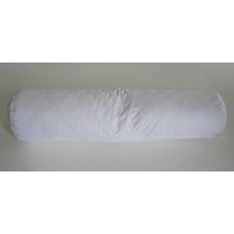 Traversin naturel plume blanc 90 cm