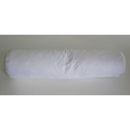 Traversin naturel plume blanc 90 cm de Literie & Linge de lit