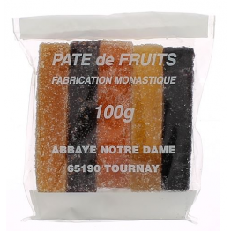 Pâtes de fruits - 5 bâtonnets