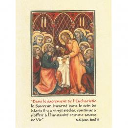 Cartes sur l'Eucharistie