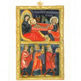 Cartes de vœux adoration des mages
