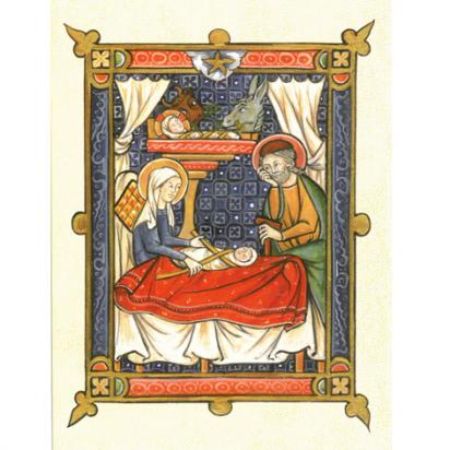 Cartes de vœux Nativité de Noël