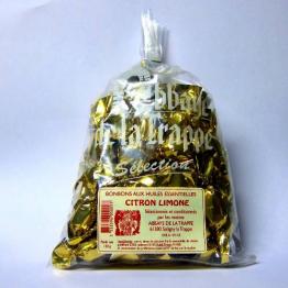 Bonbons aux huiles essentielles - Citron Limone