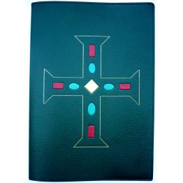 CLASSEUR LITUGIQUE Croix de Charlemagne pour format A4