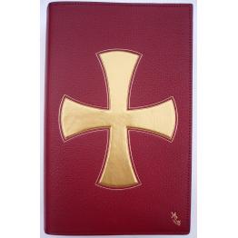 CLASSEUR LITUGIQUE Grande Croix dorée pour format A4