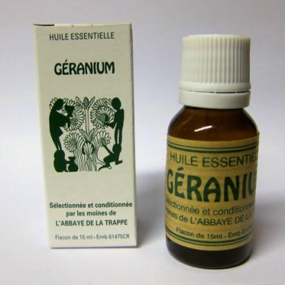 Huile essentielle Géranium - 15ml de Parfums & Huiles essentielles