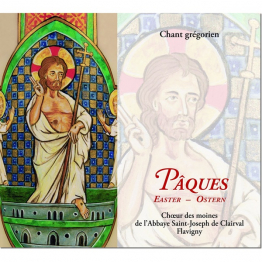 CD de chant grégorien : Pâques (Flavigny)