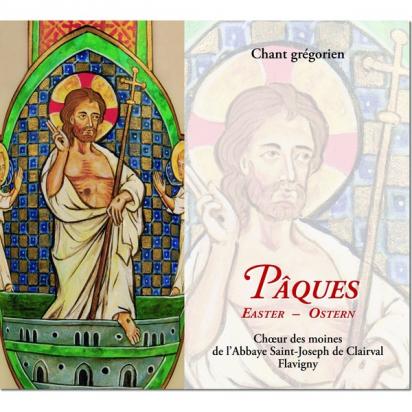 CD de chant grégorien : Pâques (Flavigny) de Musiques religieuses