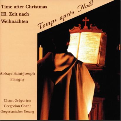 CD de chant grégorien : Temps après Noël (Flavigny) de Musiques religieuses
