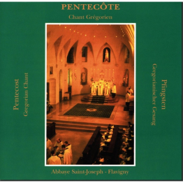 CD de chant grégorien: Pentecôte (Flavigny) de Musiques religieuses