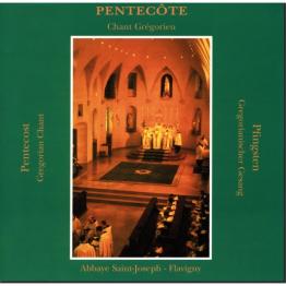 CD de chant grégorien: Pentecôte (Flavigny)