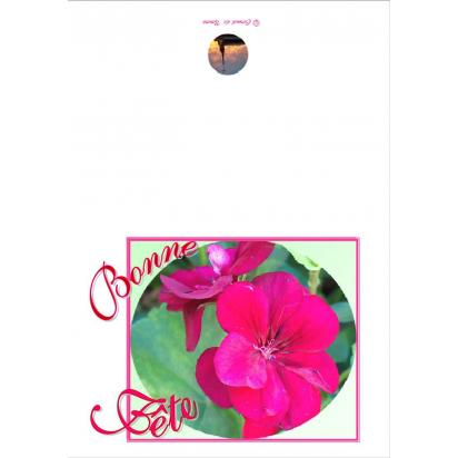 Carte de vœux fête de Anniversaire, fêtes, mariage...