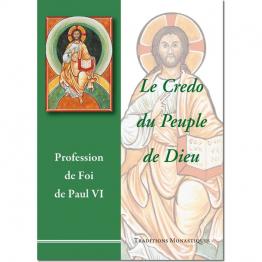 Le livre Le Credo du peuple de Dieu de Paul VI