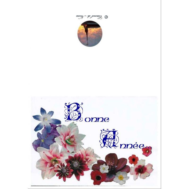Populaire Achetez en ligne notre Carte de voeux nouvel an JY01