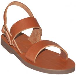 Sandales modèle Benoît - brun