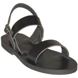 Sandales modèle Benoît - noir
