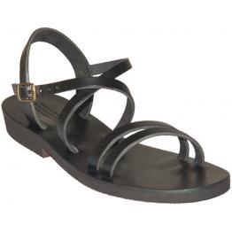 Sandales modèle Hildegarde - noir