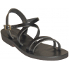 Sandales modèle Hildegarde - noir de Sandales Femmes