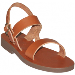 Sandales modèle Scholastique - brun