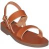 Sandales modèle Scholastique - brun de Sandales Femmes